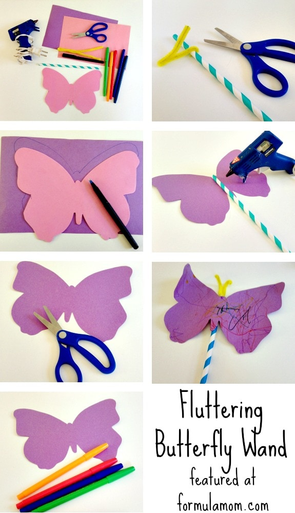 Very Hungry Caterpillar Crafts: How To Make a Wand