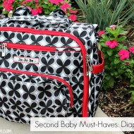 What Do You Need for a Second Baby? A Diaper Bag?
