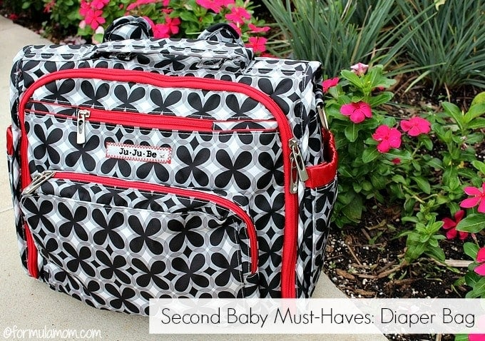 What do we need for a second baby? A diaper bag?