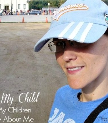 20 Things My Children Should Know About Me