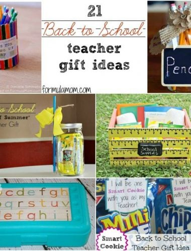 21 Back to School Teacher Gifts #backtoschool