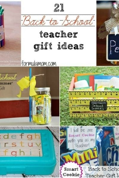 21 Back to School Teacher Gifts #backtoschool