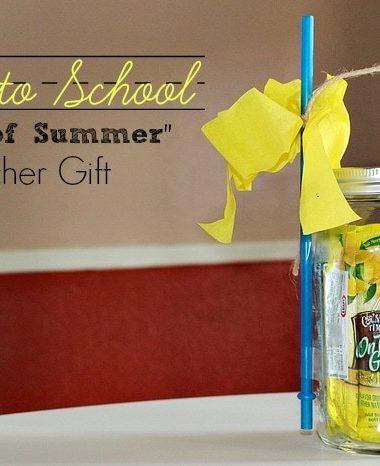 Back to School Teacher Gift