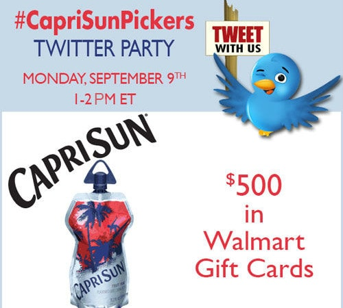 Join me at the #CapriSunPickers Twitter Party!