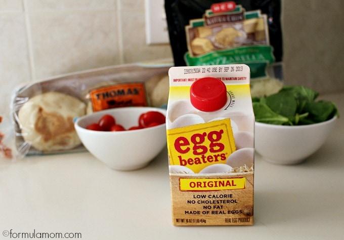 Easy Egg Muffin Sandwiches Ingredients #HEBmeals