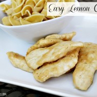 Easy Lemon Chicken with Noodles