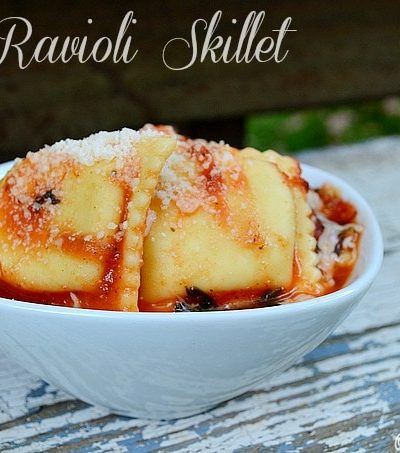 Easy Ravioli Skillet