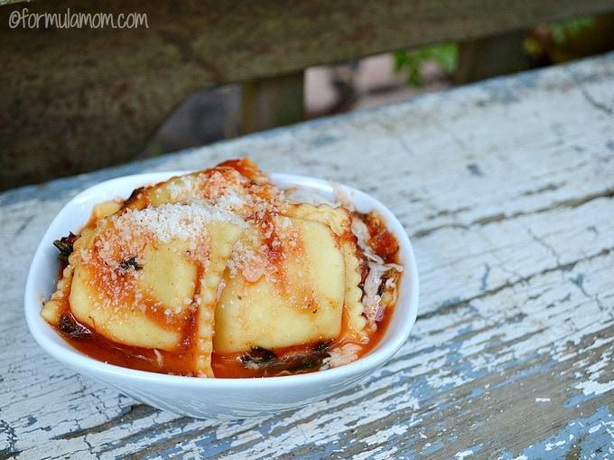 Easy Ravioli Skillet Recipe #HEBMeals
