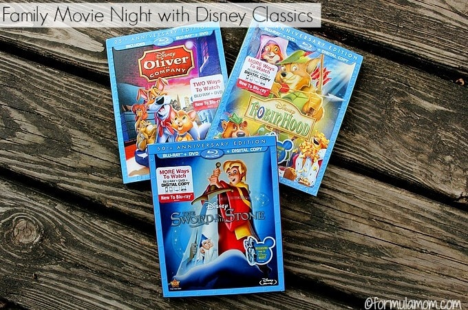 Family Movie Night with Disney Classics