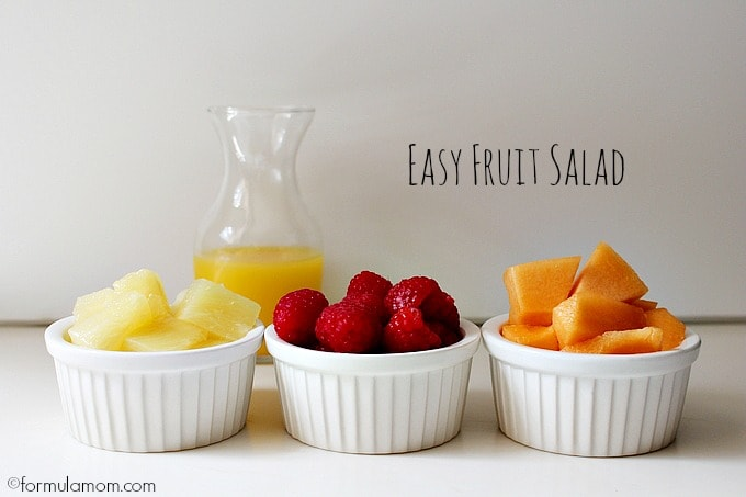 Labor Day Party Ideas: Easy Fruit Salad Ingredients #99summerdays