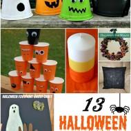 13 Halloween Crafts #halloween