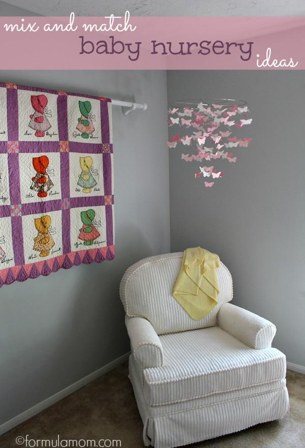Mix & Match Baby Nursery Ideas