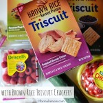 Brown Rice Triscuit Crackers at Snack Time