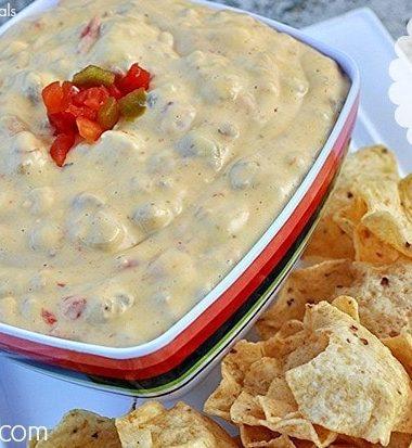 Crock Pot Queso Dip Recipe