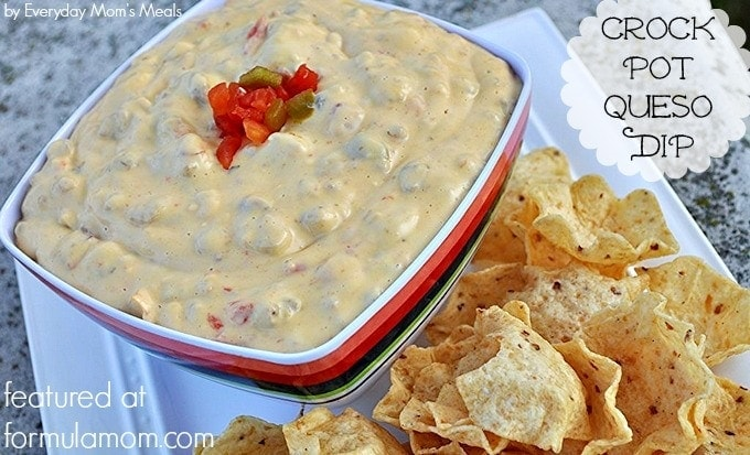 Crock Pot Queso Dip Recipe