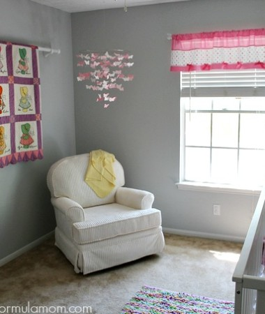 Eclectic Baby Girl Nursery Ideas