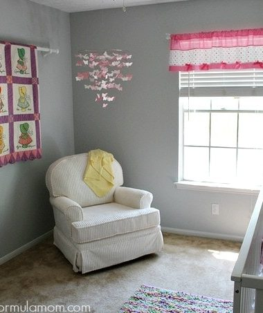 Eclectic Baby Girl Nursery Ideas