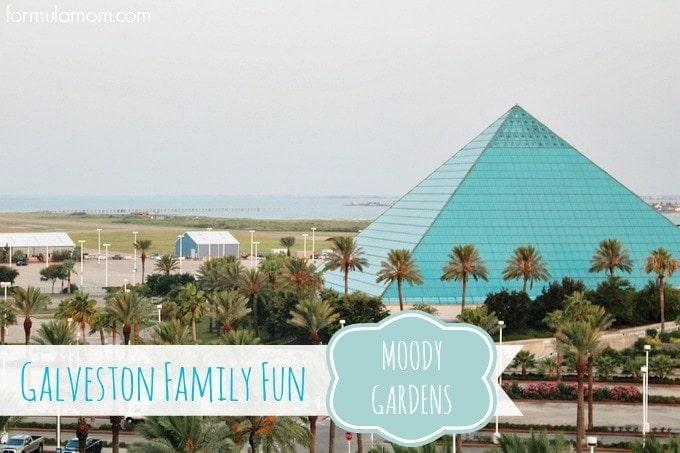 Galveston Family Fun at Moody Gardens
