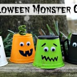 Halloween Crafts for Kids: Monster Cups