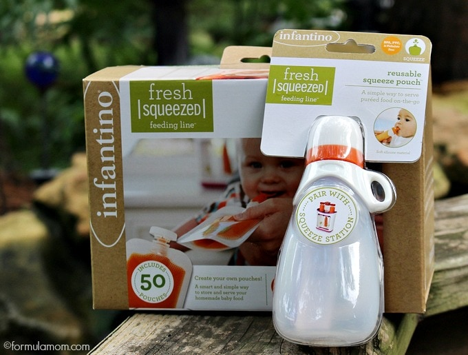Infantino Fresh Squeeze Feeding System