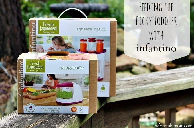 Infantino Squeeze Station Helps Feed the Picky Toddler