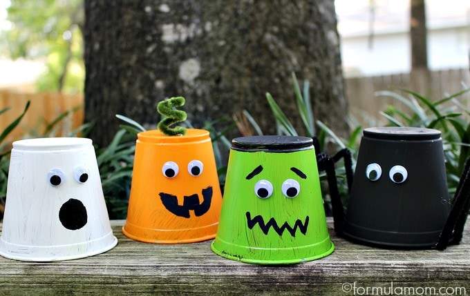 Kids Halloween Crafts: Monster Bash Cups