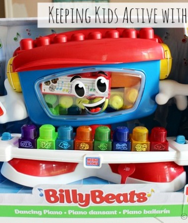 Mega Bloks Billy Beats Toy