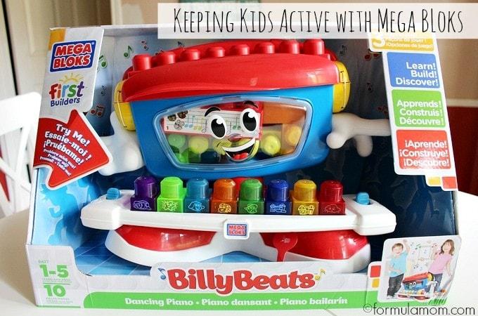 Mega Bloks Billy Beats Keeps Kids Active #BillyBeats