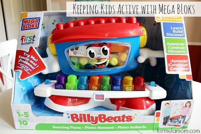 Mega Bloks Billy Beats Toy