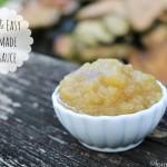Easy Applesauce Recipe