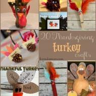 20 Thanksgiving Turkey Crafts