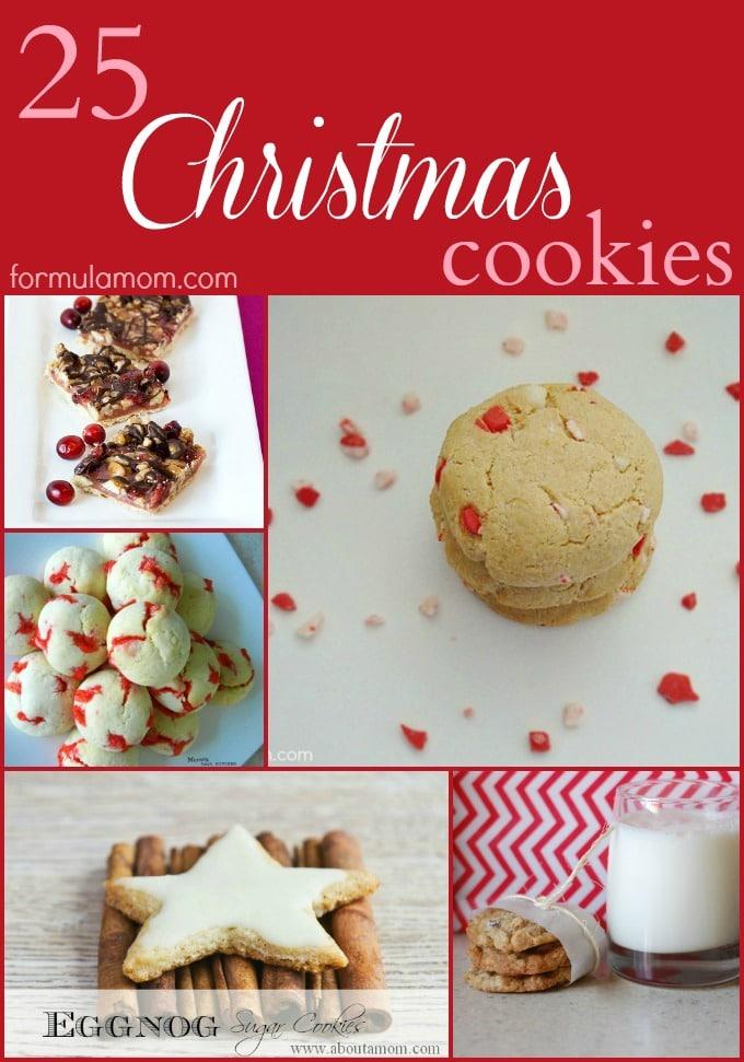 25 Christmas Cookies #christmas