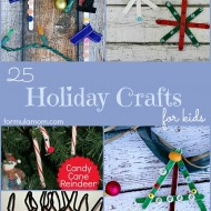 25 Holiday Crafts for Kids
