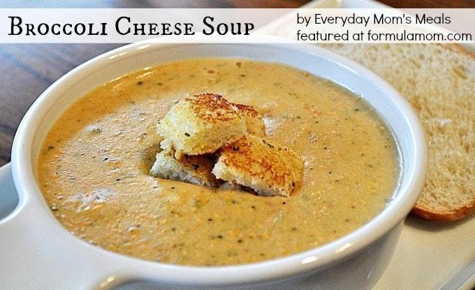 Tea Room Broccoli Cheese Soup
