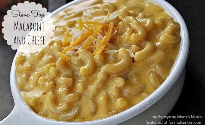 Stove Top Creamy Macaroni and Cheese