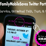 Join me at #FamilyMobileSaves Twitter Party!