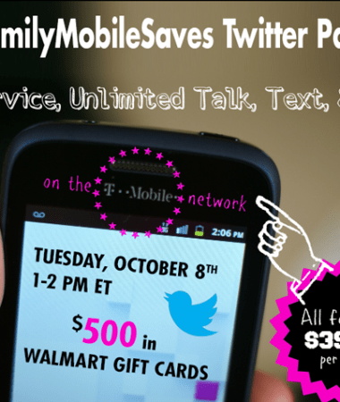 Join #FamilyMobileSaves Twitter Party #shop #cbias