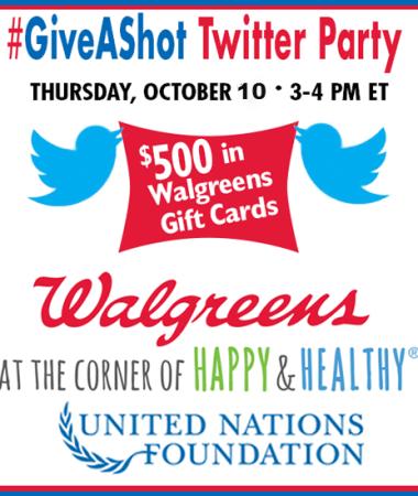 #GiveaShot Twitter Party 10/10 #shop #cbias