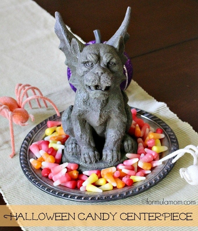 Halloween Decorating with Starburst Candy Corn: Centerpiece