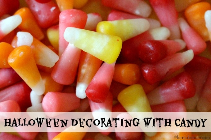 Halloween Decorating with Candy