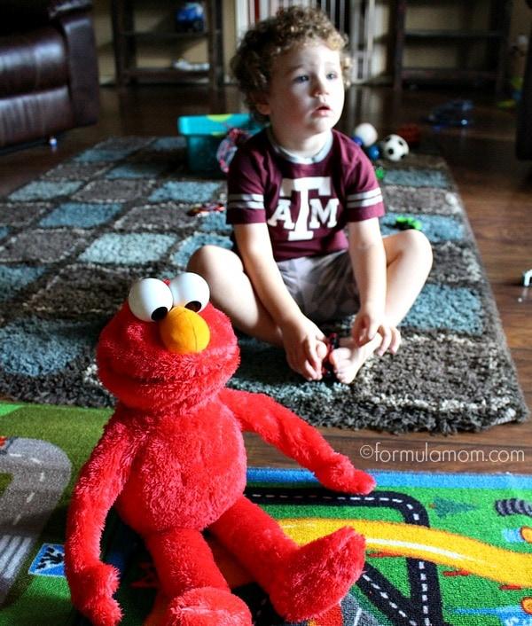 The Important of a Hug: Big Hugs Elmo