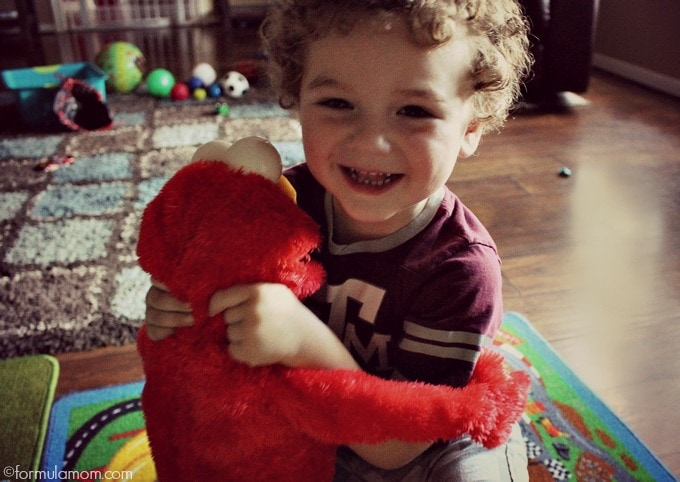 Meet Big Hugs Elmo: Importance of a Hug