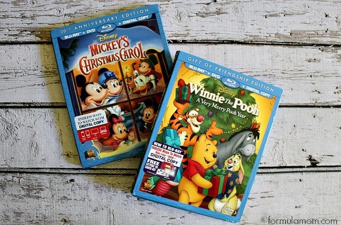 Christmas Traditions: Disney Holiday DVDs