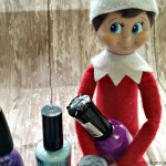 Elf on the Shelf Ideas: Elf Manicure