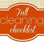 Printable Fall Cleaning Checklist