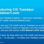 Citi® Tuesdays at Walmart.com
