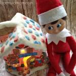 Elf on the Shelf Ideas: Gingerbread House