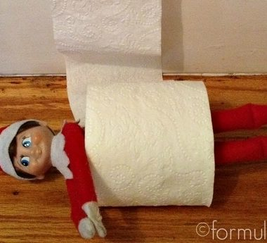 #ElfOnTheShelf Ideas: Toilet Paper Roll