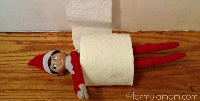 #ElfOnTheShelf Ideas: Toilet Paper Roll