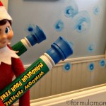 Elf on the Shelf Ideas: Mirror Mischief